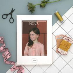 Nova - Papieren Patroon A0
