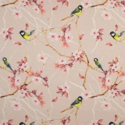 Japanese Birds Digitale Tricot