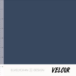 Velour - Dark Blue