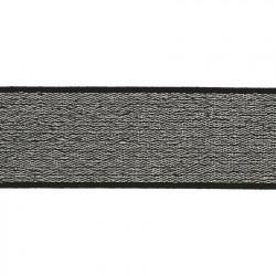 Elastiek Lurex Zilver 4cm