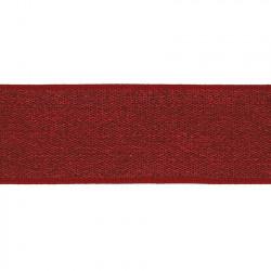 Elastiek Lurex Rood 4cm