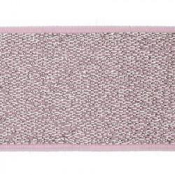 Elastiek Lurex Roze 4cm