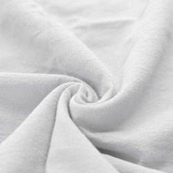 Washed Cotton White