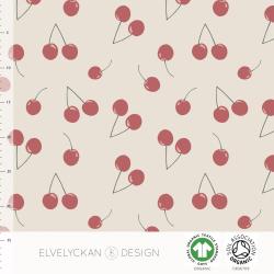 Lycra Cherries Creme (027)