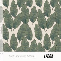 Lycra Banana Leaf Creme (027)