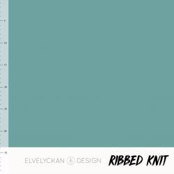 Ribbed Knit - Aqua (020)