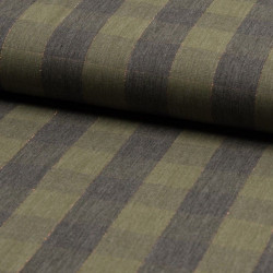 Viscose Metallic Check...