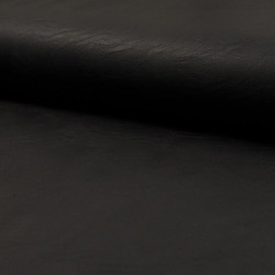 Jersey Leather Zwart