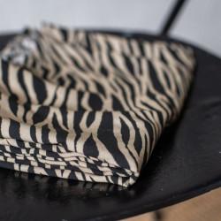 Viscose Zebra Black