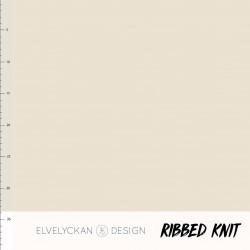 Ribbed Knit 2:1 -Crème