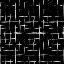 Pearl Peach Grid Black