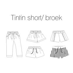 Tintin short/broek - NL...