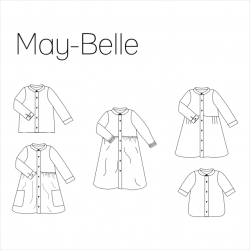 May-Belle Kids Hemd/jurk -...