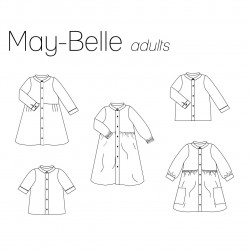 May-Belle Dames Blouse/jurk...