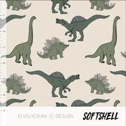 Softshell - Dino Crème (027)
