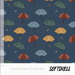 Softshell - Umbrella Blue
