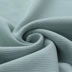 Wafel Knit Jersey Zeegroen