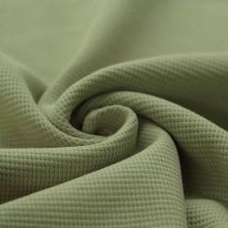 Wafel Knit Jersey Olijfgroen