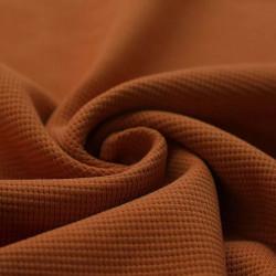 Wafel Knit Jersey Cognac
