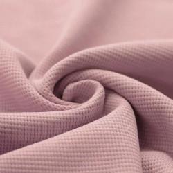Wafel Knit Jersey Nude Roze