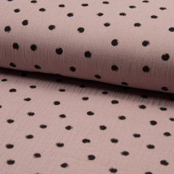 Hydrofiel Dots Dusty Pink