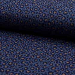 Jersey Rib Leopard Jeans