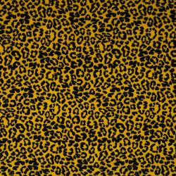 Nicky Velours Leopard Ochre
