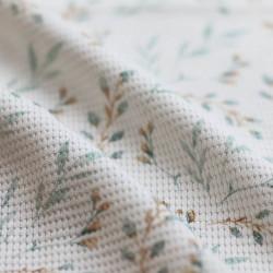 Wafel Knit Jersey Wilgentak