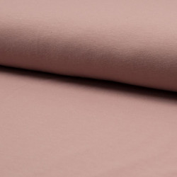 Tricot uni dusty pink