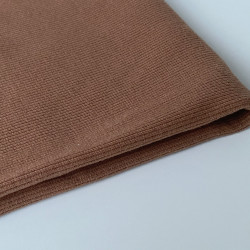 Ribbed Knit - Nutmeg (052)