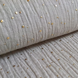 Mousseline Gold Speckles Sand