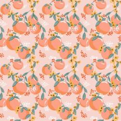 Poplin Tasty fruit Peach