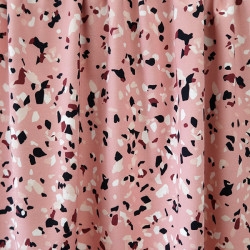 Terrazzo Blush Pink Jersey...