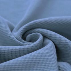 Wafel Knit Jersey Blue