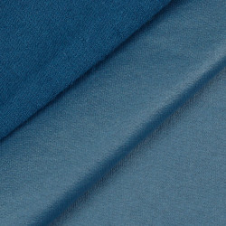 French Terry Coated Light Blue