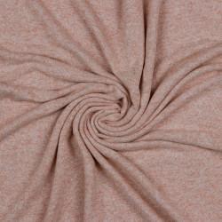 Gebreide Viscose Melange Roze