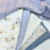 Lavendel blauw ik hou van jou!  #stoffentijd #lavendel #mooiestoffen #onlinestoffen #fabrics #fabriholic #fabriclove #fabriclovers #fabricflatlay #naaien #naaienisleuk #hydrofiel #broderie #ribtricot #stofverslaafd