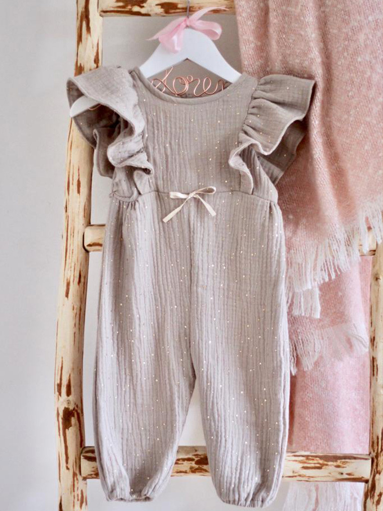 Gold Speckled Jumpsuit